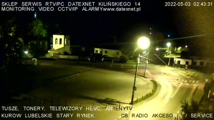 Kurów - Webcam